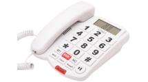 Ενσύρματο Τηλέφωνο Osio OSWB-4760W Λευκό