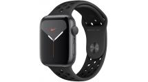 Apple Watch Nike Series 5 GPS, 44mm Space Grey Aluminium Case με Anthracite/Black Nike Sport Band