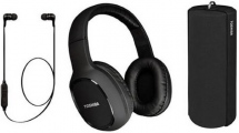 Bluetooth Toshiba Audio Wireless 3 In 1 Combo Pack HSP-3P19K Black