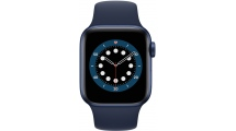 Apple Watch Series 6 GPS 44mm Blue - Deep Navy Sport Band