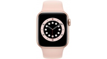 Apple Watch Series 6 GPS 44mm Gold - Pink Sand Sport Band