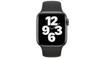 Apple Watch SE GPS 40mm Space Gray - Black Sport Band