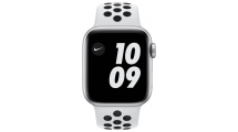 Apple Watch Nike Series 6 GPS 44mm Silver - Pure Platinum/Black Nike Sport Band