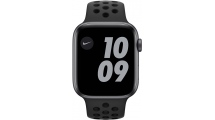 Apple Watch Nike SE GPS 44mm Space Gray - Anthracite/Black Nike Sport Band