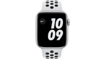 Apple Watch Nike SE GPS 44mm Silve - Pure Platinum/Black Nike Sport Band