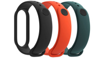 Mi Smart Band 5 Strap 3-pack (Blk-Or-Cy)