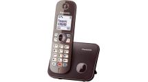 Ασύρματο Τηλέφωνο Panasonic KX-TG6851GRA Brown