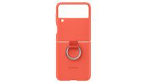 Θήκη Samsung Silicone/Ring Cover Galaxy Z Flip 3 5G Coral