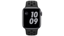 Apple Watch Nike SE GPS 44mm Space Grey - Anthracite/Black Nike Sport Band