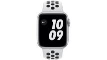 Apple Watch Nike SE GPS 44mm Silver - Pure Platinum/Black Nike Sport Band