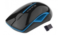 Mouse Element Wireless MS-170KB Black-Light blue
