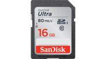Κάρτα Μνήμης Sandisk Ultra SDHC 16GB SDSDUNC-016G-GN6IN