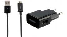 Φορτιστής Ταξιδιού Samsung Detachable (Micro Usb/2A) Black