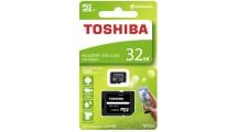 Κάρτα μνήμης Toshiba microSDHC 32GB M203 Class 10 With Adapter