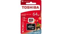 Κάρτα μνήμης Toshiba microSDXC 64GB M303 With Adapter