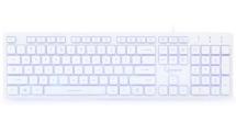 Πληκτρολόγιο Gembird 3-Color Backlite White