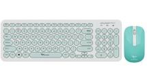 Σετ Πληκτρολόγιο & Ποντίκι Alcatroz Jellybean A2000 White Mint