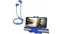 Ακουστικά Handsfree Celly Up 600 Blue + Δωρο Squiddy Flexible Mini Tripod