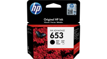 Μελάνι HP 653 Black 3YM75AE