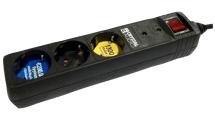 Πολύπριζο Ασφαλείας Crystal Audio 3 Θέσεων CP3-1300-70