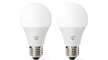 WiFi Smart Bulbs Nedis WIFILC20WTE27 - 2 Τεμάχια