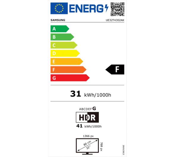 TV Samsung UE32T4302 32'' Smart HD