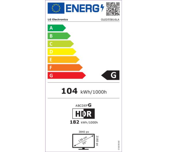 TV LG OLED55B16LA 55'' Smart 4K