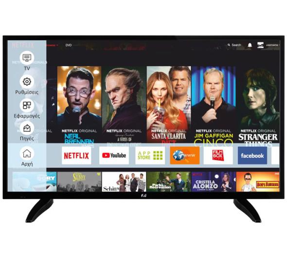 TV F&U FLS39203 39'' Smart Full HD