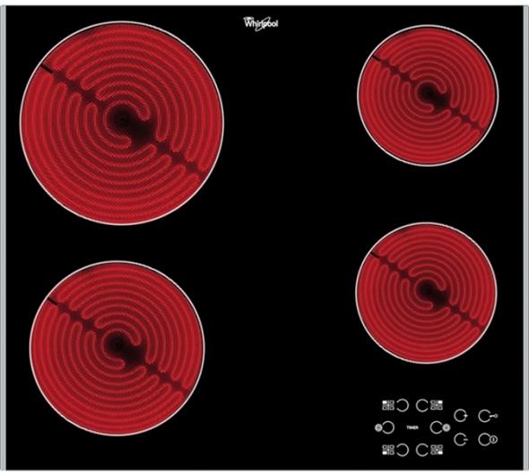 Εστία Κεραμική Whirlpool AKT 8090 LX