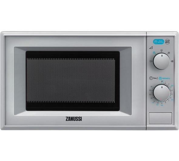 Φούρνος Μικροκυμάτων Zanussi ZFM 20100SA Ασημί