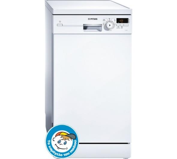 Πλυντήριο Πιάτων Pitsos DRS5512 Λευκό 45 cm Α+