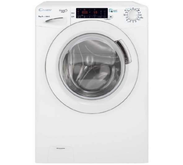 Πλυντήριο Ρούχων Candy GVS 158TH3-S 8 kg A+++