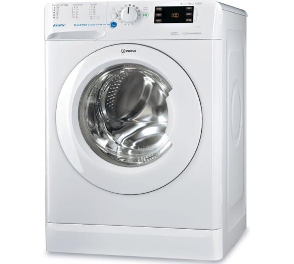 Πλυντήριο Ρούχων Indesit BWE 81284X W EU 8kg A+++ 10%