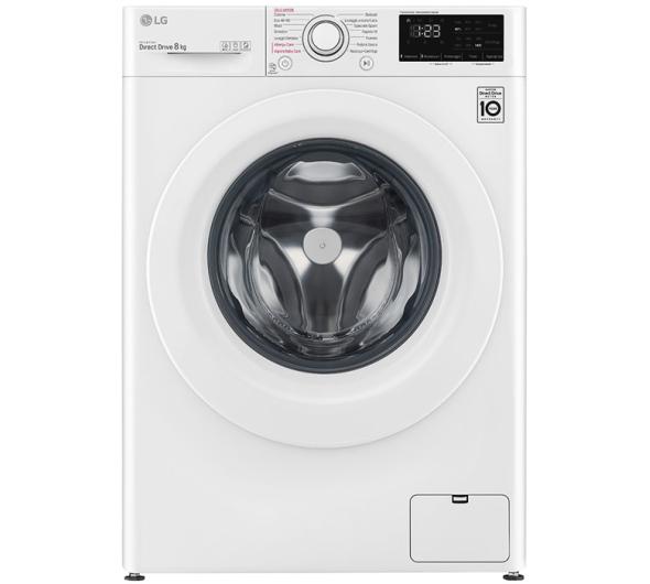 Πλυντήριο Ρούχων LG F4WV308S3E Steam 8 kg C