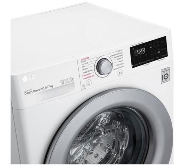 Πλυντήριο-Στεγνωτήριο LG F4DV710H1E 10.5 kg/7 kg A