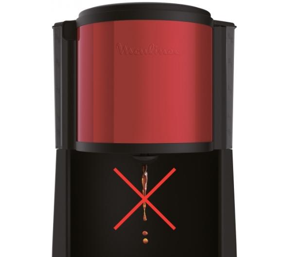 Καφετιέρα Φίλτρου Moulinex Subito 4 FG370D Κόκκινο/Μαύρο