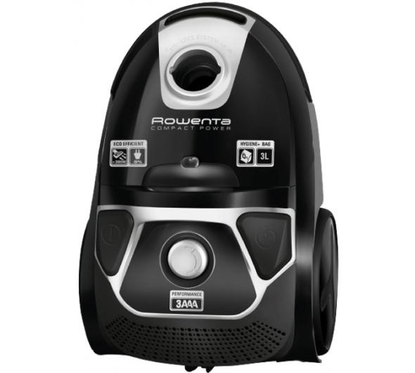 Σκούπα Ηλεκτρική Rowenta Compact Power Animal Care RO3985 Μαύρο