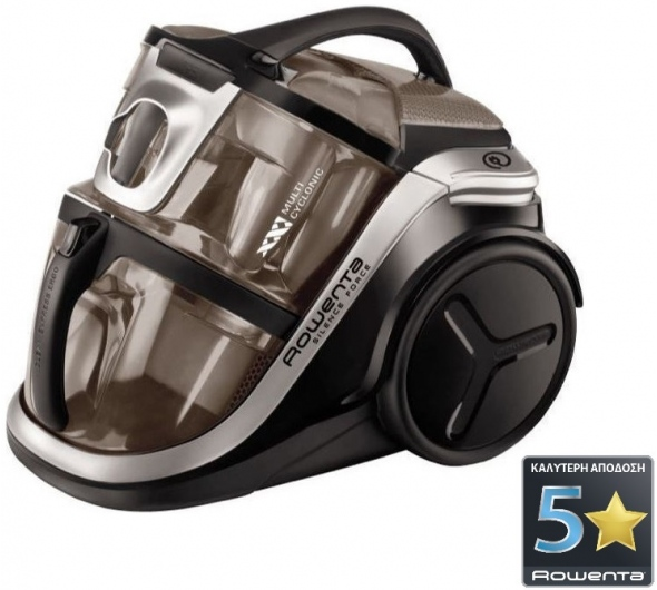 Σκούπα Ηλεκτρική Rowenta Silence Force MultiCyclonic RO8388 Καφέ/Μαύρο