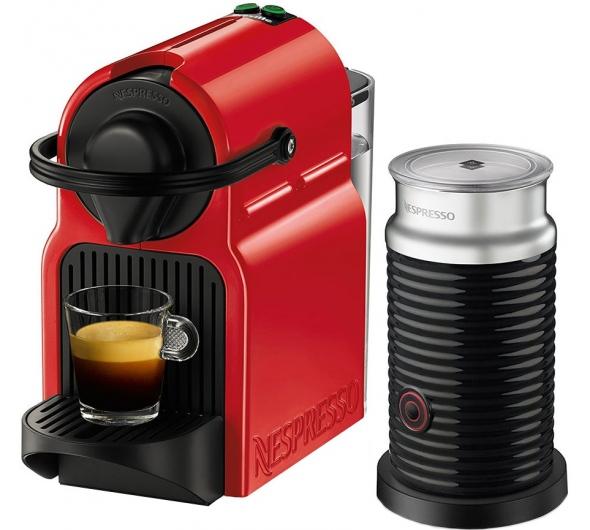 Καφετιέρα Nespresso Krups XN1015S Inissia & Aero Set Κόκκινο