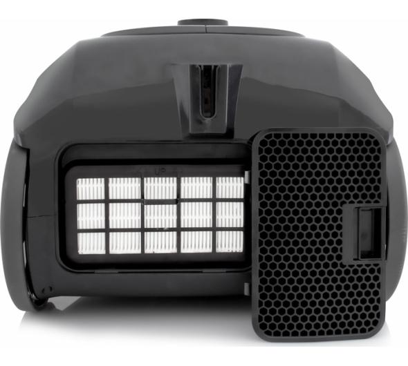 Σκούπα Ηλεκτρική Rohnson MOD R-1560 Μαύρο
