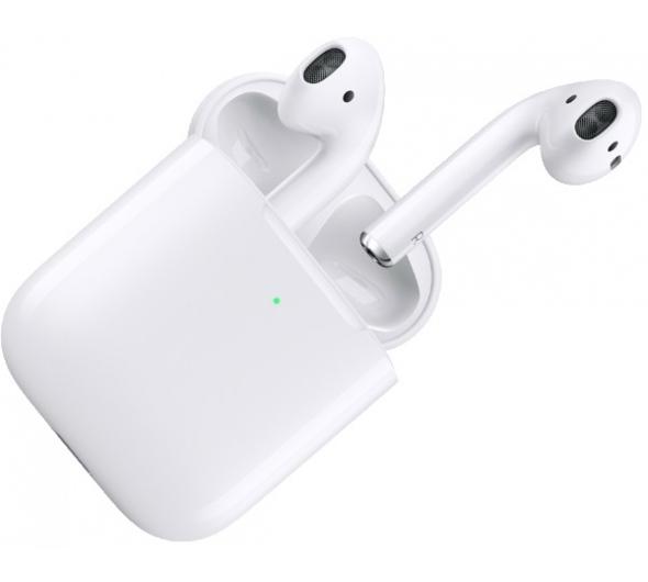 Ακουστικά Bluetooth Handsfree Apple Airpods With Wireless Charging Case