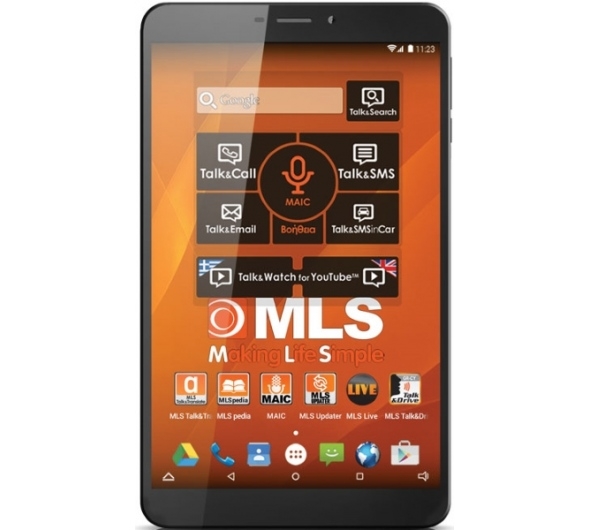 Tablet MLS iQTab Care 8'' 16GB 3G Black