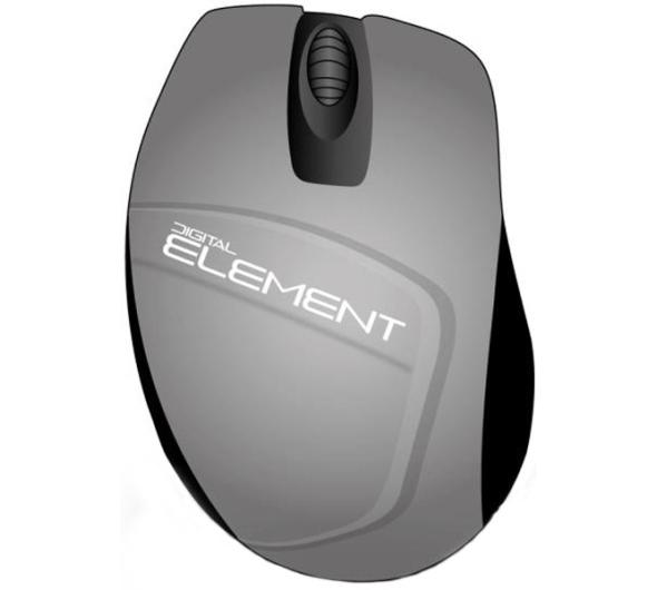 Mouse Element MS-165S Black/Silver