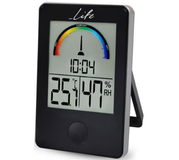 Μετεωρολογικός Σταθμός Life WES-100 iTemp Black